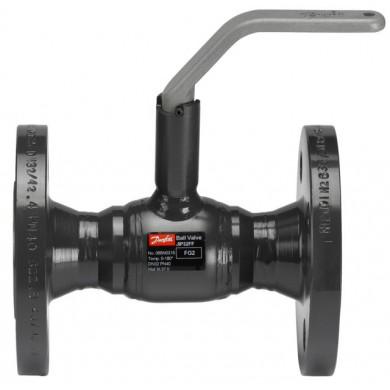 Кран Danfoss стальной шаровый JiP-FF фланцевый