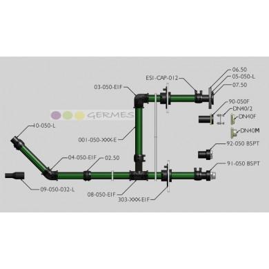 Труба UPP 50 mm