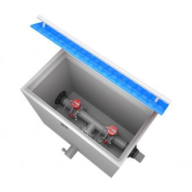 Технологический отсек переключения аварийных проливов (электромагнитный клапан)