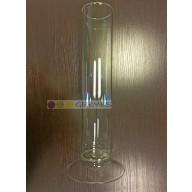 Цилиндр для ареометров без делений на стеклянном основании 1-67/335 (1000 мл).
